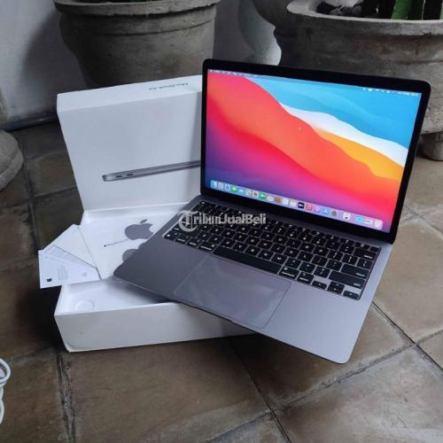 Laptop Macbook Air 2020 Space Gray Terbaru Ram 8GB Ssd 256GB Bekas Like New - Pa