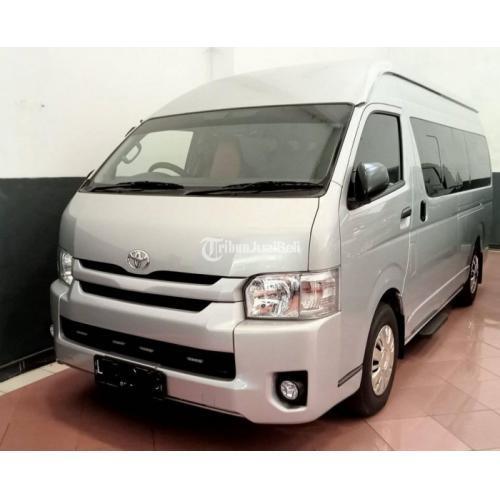 Mobil Toyota Hiace Commuter 2019 Bukan Bekas Travel KM Rendah Harga Nego - Surab
