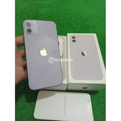 HP Apple iPhone 11 64GB Bekas Inter All Operator Mulus Nominus Bebas Reset - Ban