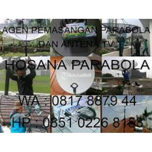 jasa instalasi parabola & pasang antena tv rawa buaya