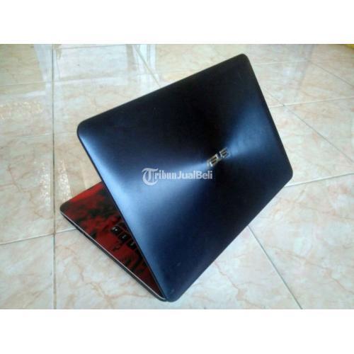 Laptop Asus X455L intel core i3-4005u Bekas RAM 4GB Baterai Awet - Surabaya