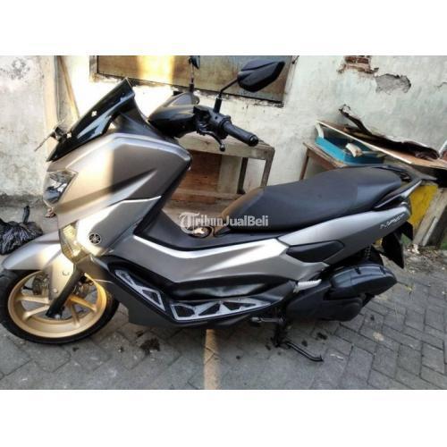 Motor Yamaha NMAC 2018 Grey Doff Bekas Surat Lengkap Pajak On - Surabaya