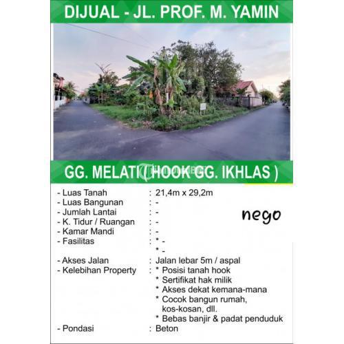 Tanah Prof M Yamin Pontianak, Kalimantan Barat