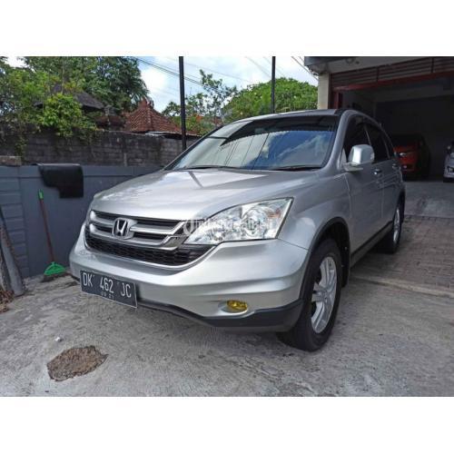 Mobil Honda CRV 2.4 AT 2010 Bekas Pajak On Interior Bersih - Denpasar