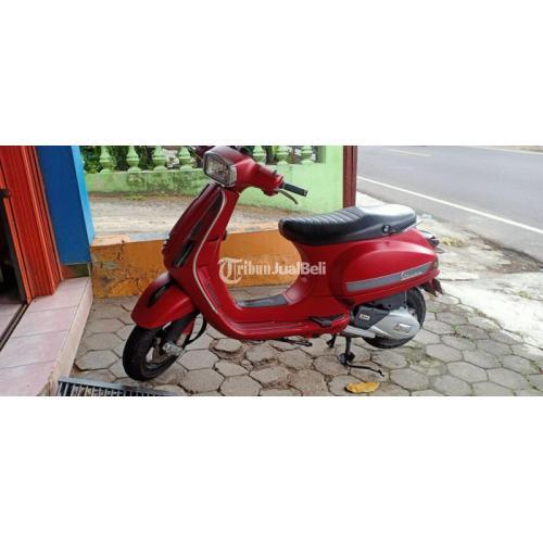 Motor Vespa s125 i get 2019 Merah Bekas Mulus Harga Nego - Jogja