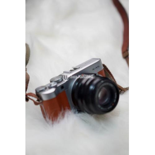 Kamera Mirrorless Fujifilm XA-5 Body Only Bekas Normal Fullset Box - Solo
