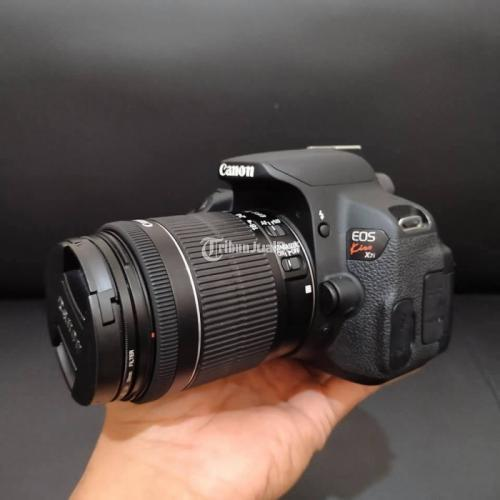 Kamera  DSLR Canon EOS Kiss X7i Bekas Fullset Box Normal Mulus - Kebumen