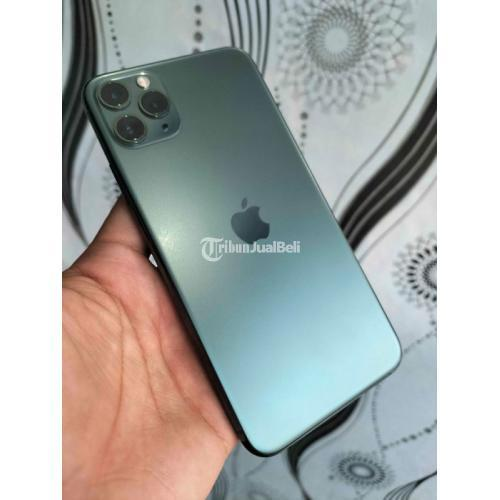 HP Apple iPhone 11 Pro Max 64GB Ori LLA Bekas Like New Fullset Normal - Jogja