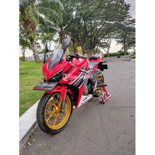 Motor Honda CBR 150R Tahun 2019 Bekas Mulus Siap Pakai Surat Lengkap - Semarang