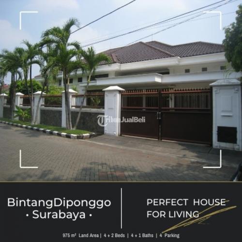 Rumah Bintang Diponggo - Surabaya | Mewah dan Elegant.