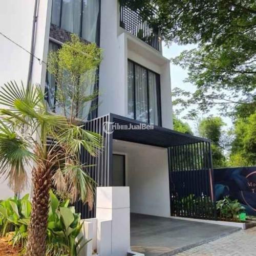 Dijual Rumah Tropical 3 Lantai Yarra Cluster di Anwa Residence Puri - Jakarta Ba