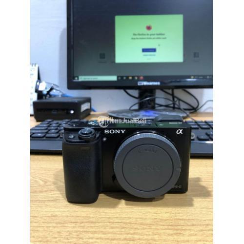 Kamera Mirrorless Sony A6000 Body Only Dusbuk Bekas Fullset Standar - Bekasi