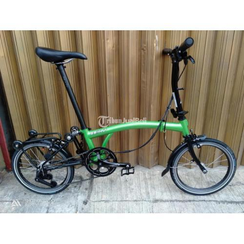 Sepeda Lipat 3sixty Upgrade Mulus Bekas Normal - Jakarta Timur
