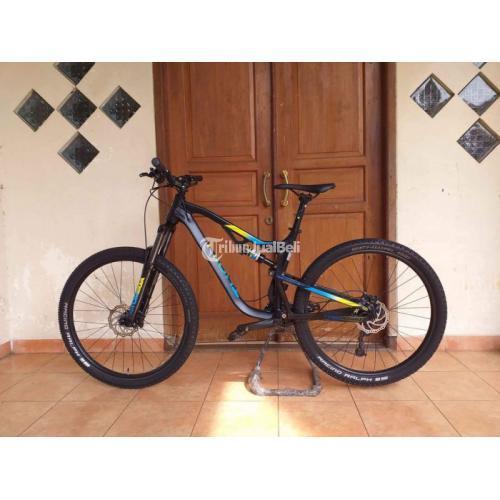 Sepeda MTB Fullsus Thrill Ricochet T120 AL 4.0 Bekas Siap Pakai - Tangerang Sela