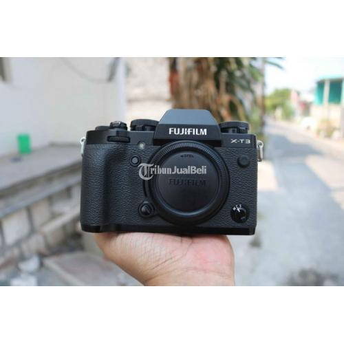 Kamera Mirorrless Fujifilm XT 3 Body Only FFID Bekas No Minus - Surabaya