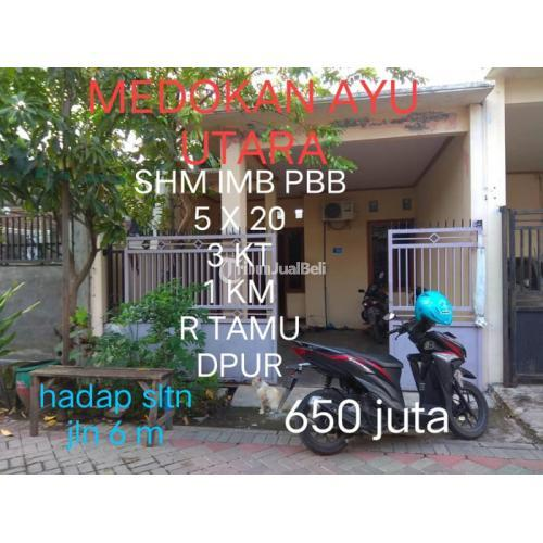 Rumah Minimalis Second 3KT 1KM SHM di Medokan Ayu Utara - Surabaya