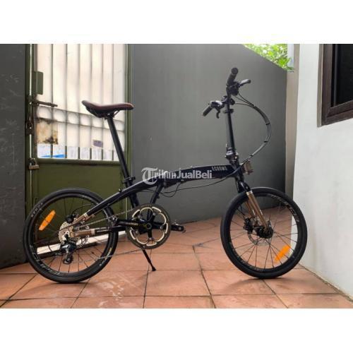 Sepeda Lipat Elemen Cosmo 10 Bekas Upgrade Siap Pakai - Jakarta Pusat