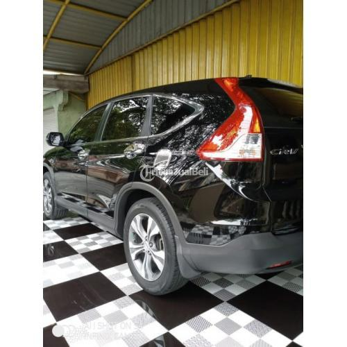 Mobil All New Honda CR-V 2.4 AT 2013 Hitam Bekas Pajak On Nego - Solo