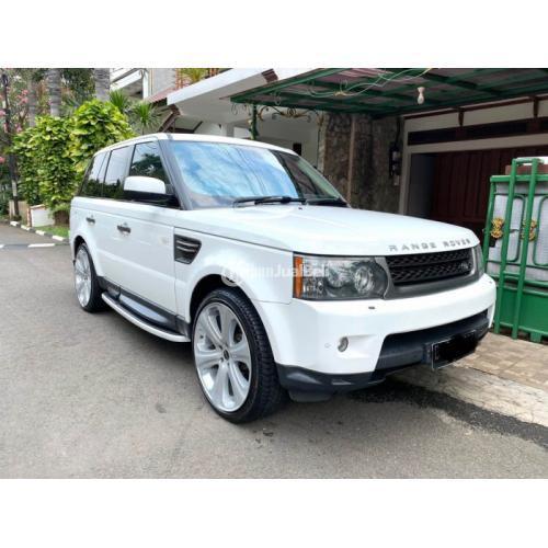 Mobil Range Rover Sport Diesel 3.0 HSE 2011 Bekas Full Original Pajak Panjang -