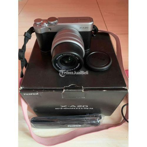 Kamera Mirrorless Fujifilm X-A20 Bekas Like New Mulus Harga Nego - Bogor