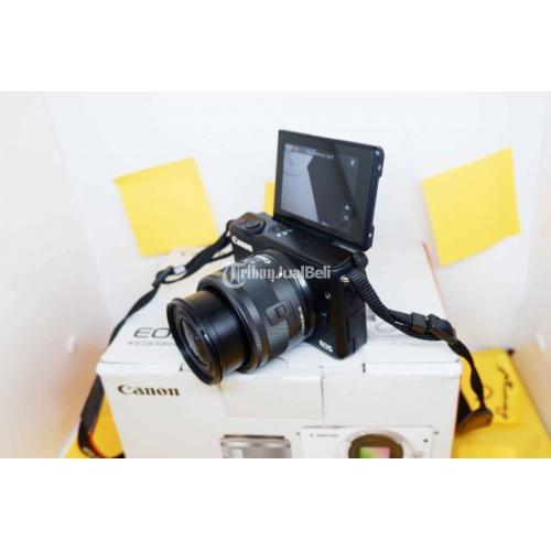 Kamera Canon EOS M10 Lensa Kit 15-45mm Bekas No Jamur - Bandung