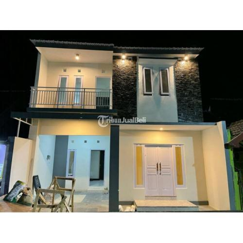 Rumah Full Bangunan 2 Lantai Baru Tipe 75 One Gate System - Bantul