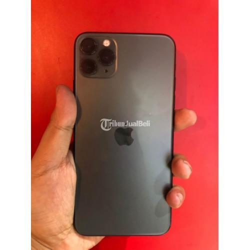 HP iPhone 11 Pro Max 256GB Bekas Fullset Mulus No Minus Garansi - Solo