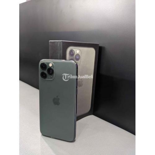HP iPhone 11 Pro 256GB Fullset iCloud Bebas Reset Bekas No Minus - Semarang