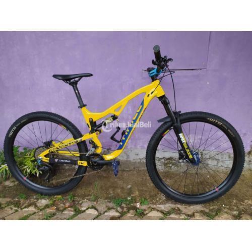 Sepeda Thrill Ricochet 5.0 AL 2021 Upgrade Bekas Like New Mulus - Bogor