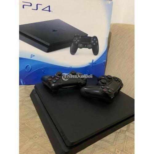 Konsol Game Sony PS 4 Slim 500GB ORI Lengkap Bekas Nominus - Jakarta Selatan