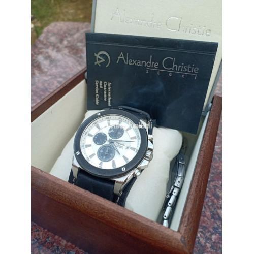 Jam Tangan Alexandre christie ac6247mc Original Bekas Fullsey Mulus - Bekasi