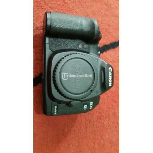Kamera Canon 5D Mark II Fullset Box Bekas Fungsi Normal Nego - Surabaya