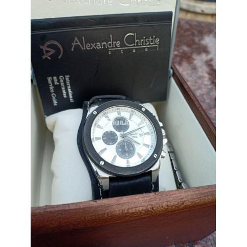 Jam Tangan Alexandre Christie AC6247MC Original Bekas Fullset - Bekasi