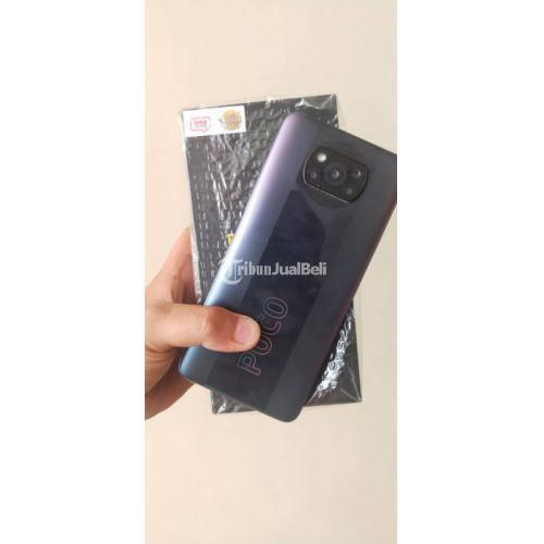 HP Xiaomi Poco X3 Pro RAM 8/256GB Fullset Bekas Fungsi Normal - Surabaya