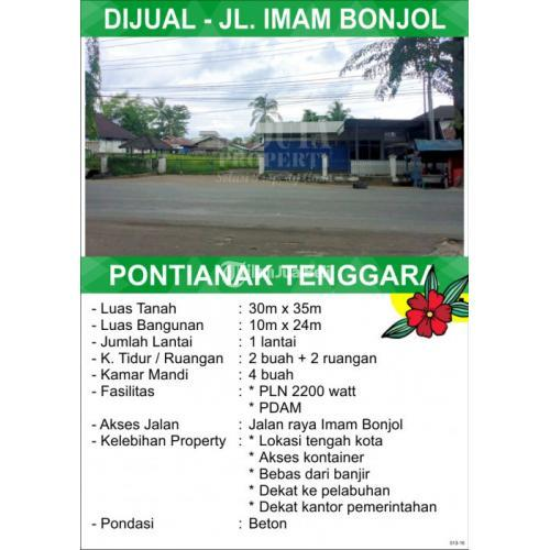 Tanah Imam Bonjol Pontianak Kalimantan Barat
