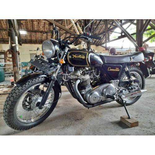 Motor Classic Antik Norton 1972 750cc Original Siap Pakai Harga Nego - Jogja