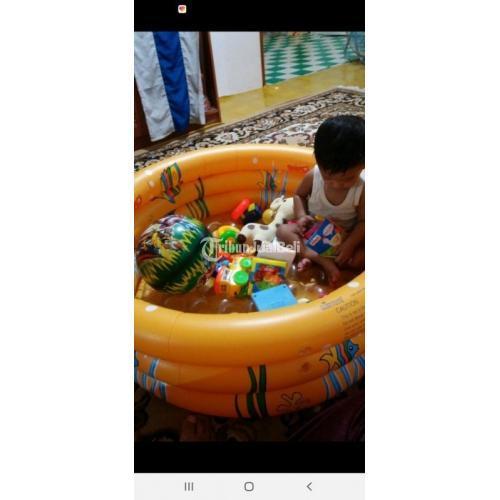 Kolam Renang Anak Satu Set Pompa dan Bola Kualitas Terbaik Harga Murah - Surabaya