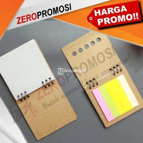 Souvenir Kantor Memo Post it N-812 Notebook Mini Ramah Lingkungan - Tangerang