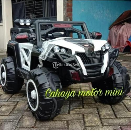Mainana Mobil Jeep Jumbo HR-05 Mini Pakai Remot Bahan Bakar Aki - Bojonegoro