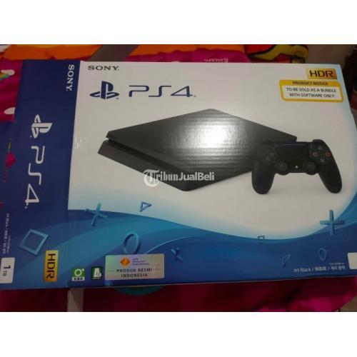 Konsol Game Sony PS4 Slim 1TB 2218B Mulus No Minus Terawat Bonus BD - Semarang