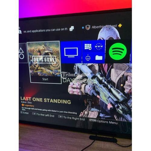 Konsol Game Sony PS4 Slim 1TB Bundle Bekas Like New Original Harga Nego - Magelang