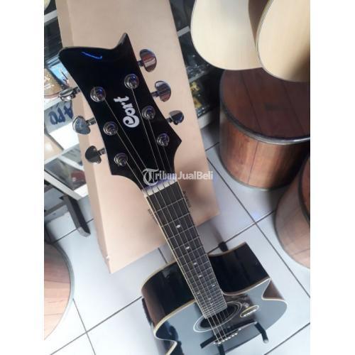 Gitar Akustik Baru Digital Tuner Model Cort Custom Kualias Terbaik - Bekasi