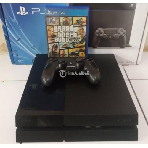 Konsol Game Sony PS4 Seri 11xx 500gb Bonus GTA V Second Normal Segel Void - Semarang