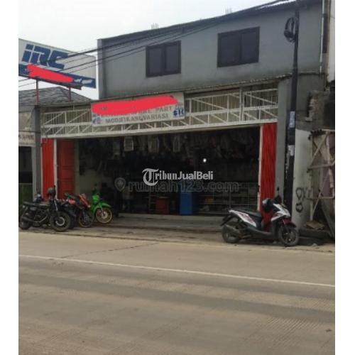Dijual Ruko Lokasi Sangat Strategis Bebas Banjir SHM di Cukupa - Tangerang