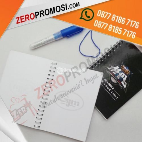 Souvenir Memo Agenda Custom Ukuran A6 Dengan Cover Artcarton - Tangerang