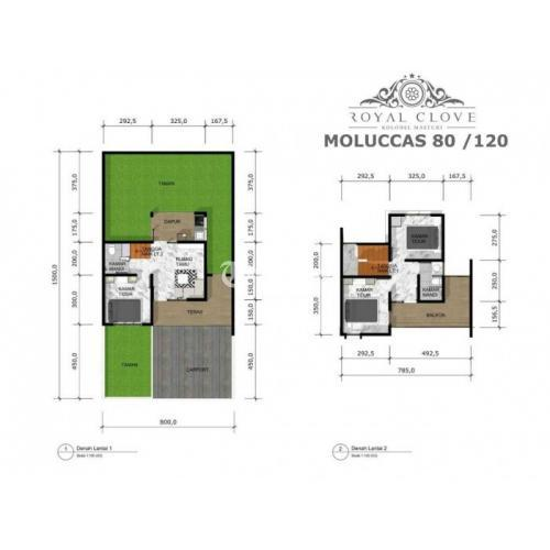 Dijual Rumah Baru Royal Clove Kolmas perumahan cimahi Utara - Cimahi