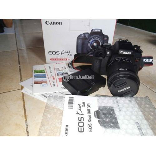 Kamera DSLR Canon EOS Kiss X8i Bekas Like New Terawat Surat Ada - Sukoharjo