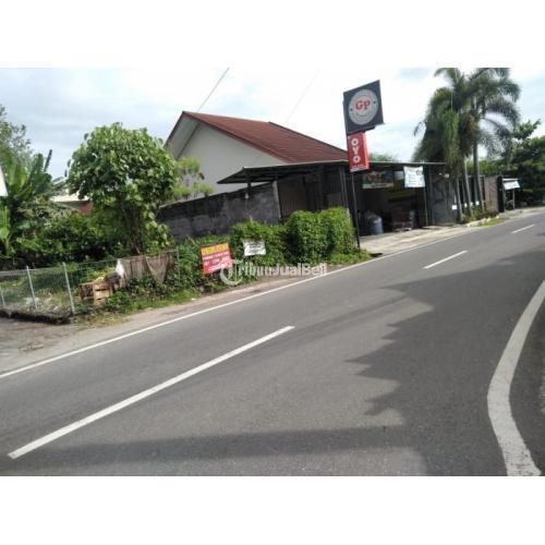 Dijual Tanah Strategis-DATAR-tepi Jl Titi Bumi, selatan WIJAYA SHOP Jl Godean - Sleman