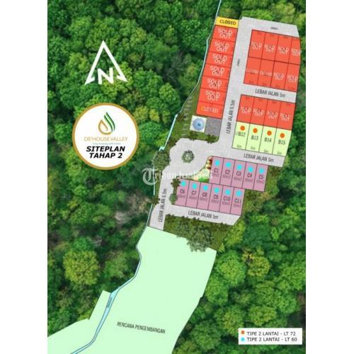 Dijual Rumah 2 Lantai Ready 2 Tipe De House Valley Cipageran - Cimahi