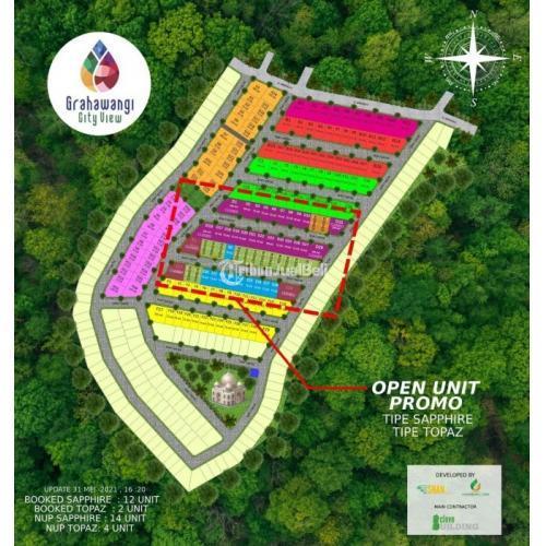 Dijual Grahawangi City View Pasir Jati Rumah Modern Ala Eropa & Jepang - Bandung